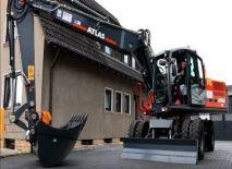 ATLAS 220 W Peso de 24000 Kg Potencia 170 CV Profundidad de excavación 6,3 m