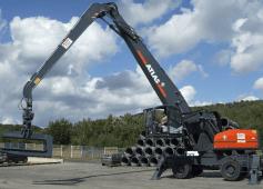 ATLAS 520MH Peso de 57000 Kg Potencia 244 CV Alcance máximo 18,20 m