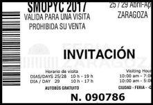 INVITACION SMOPYC 2017