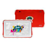 TABLET GHIA KIDS 7 TODDLER GTAB718R/QUAD CORE/1GB/8GB/2CAM/WIFI/BLUETOOTH/ANDROID 8.1 GO EDITION /ROJA