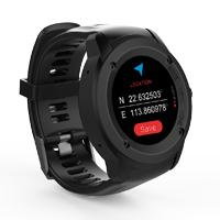 GHIA SMART WATCH DRACO /1.3 TOUCH/ HEART RATE/ BT/ GPS/ GAC-142 / COLOR NEGRO/NEGRO