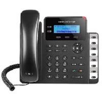 TELFONO IP BASICO GIGABIT DE 2 LNEAS 2 CUENTAS SIP CON 3 TECLAS DE FUNCIN 8 TECLAS DE EXTENSIN BLF Y CONFERENCIA DE 4 VAS POE Y FUENTE DE ALIMENTACION INCLUIDA
