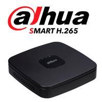 DVR DAHUA 4 CANALES HDCVI PENTAHIBRIDO 720P/ 1080P LITE/ H265/ HDMI/ VGA/ 1 CH IP ADICIONAL 41/ 1 SATA HASTA 10TB/ P2P/ SMART AUDIO HDCVI