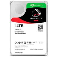 DD INTERNO SEAGATE IRONWOLF 3.5 14TB SATA3 6GB/S 7200RPM 256MB 24X7 HOT-PLUG P/NAS 1-8 BAHIAS