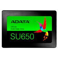 UNIDAD DE ESTADO SOLIDO SSD ADATA SU650 120GB 2.5 SATA3 7MM LECT.520/ESCR.450MBS SIN BRACKET PC LAPTOP