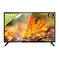 TELEVISION LED GHIA 55 PULG SMART TV UHD 4K 3 HDMI / 2 USB / VGA/PC 60HZ