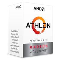 PROCESADOR AMD ATHLON 220GE S-AM4 35W 3.4 GHZ CACHE 5 MB 2CPU CORES / GRAFICOS RADEON VEGA 3GPU/ CON VENTILADOR/COMP. BASICO.