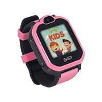 GHIA SMART WATCH KIDS 4G ROSA-NEGRO/ 1.44 PULGADAS TOUCH CON LINTERNA Y CAMARA/SIM CARD 3G-4G