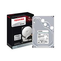 DD INTERNO TOSHIBA X300 3.5 4TB/SATA 3/6GBIT/S/128MB/7200RPM/PC/GAMER/ALTO RENDIMIENTO/EMPAQUE RETAIL