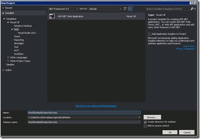 salesforce crm visual studio