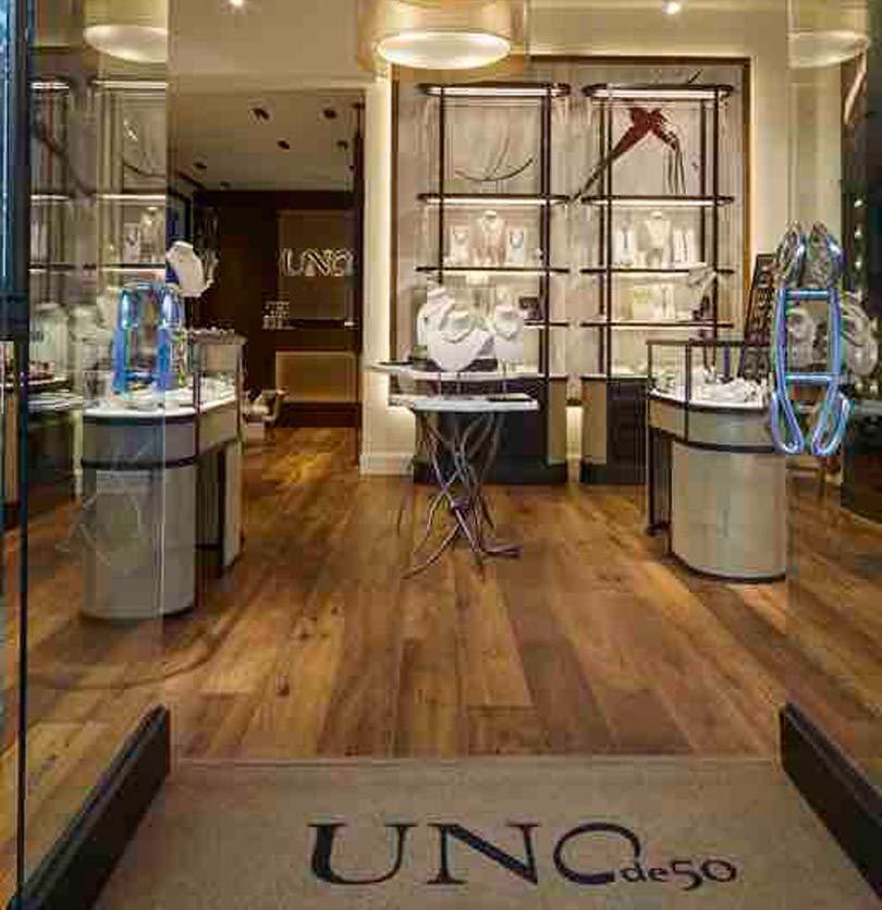 Uno de 50 estrena nuevo concepto de tienda en Madrid