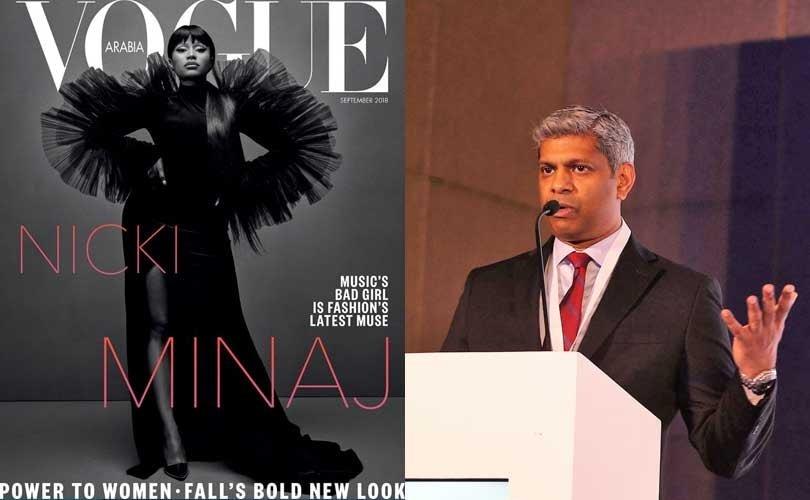 «La innovación no es un proyecto, se hace cada día», Ravi Raman (Vogue Arabia)