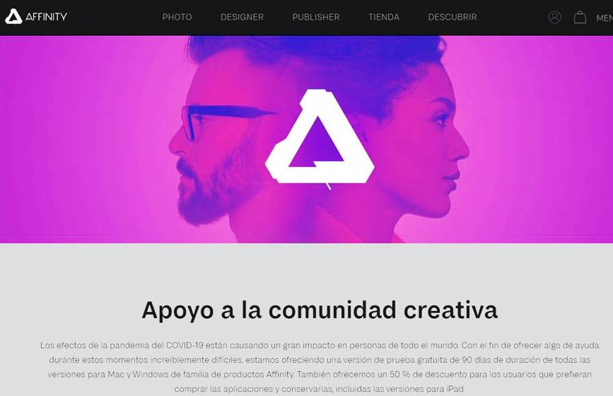 Affinity - Herramientas Gratis para Diseñadores en Tiempos de Covid-19