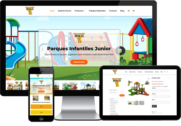 PARQUES INFANTILES JUNIOR