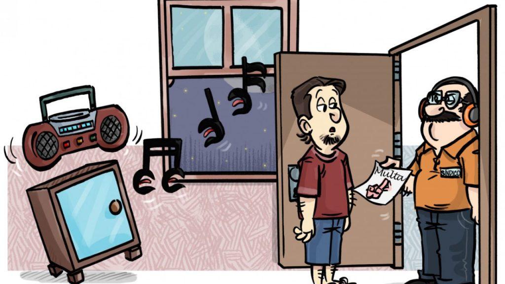Multa por Barulho em Condomínio
