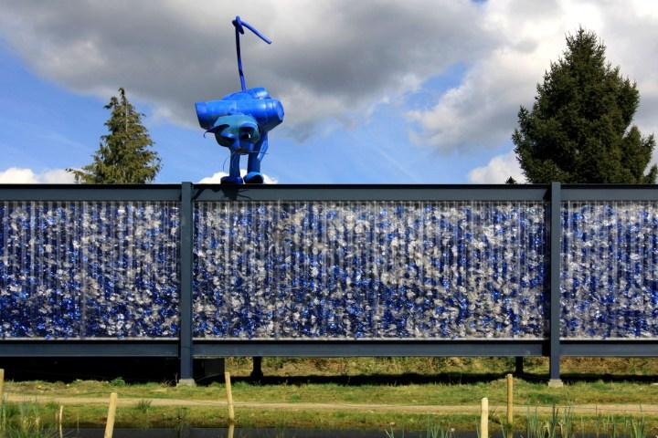 De plásticos reciclados a materiais de construção