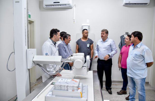 Novo aparelho de raios-x começa a funcionar na UPA do Cervezão