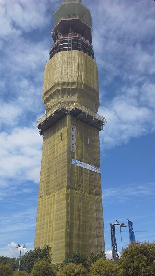 Torre Pero h. 103 metri- Gruppo Di Falco Ponteggi