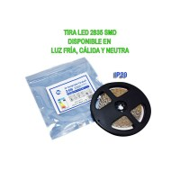 Tira Led 24V 24W 5 metres IP20