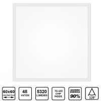 Panell Superficie Quadrat Led TG Moon 48W 6000k 60×60