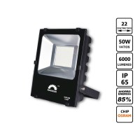 Projector Led Xip Osram 50W Blacks