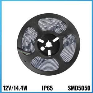 Tira Led 12V 14.4W 5 metres IP65 4500k