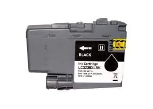 Brother LC3235XL/LC3233 Negro Cartucho de Tinta Pigmentada Generico - Reemplaza LC3235XLBK/LC3233BK