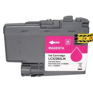 Brother LC3235XL/LC3233 Magenta Cartucho de Tinta Generico - Reemplaza LC3235XLM/LC3233M