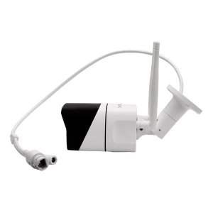 Approx Camara de Videovigilancia WiFi HD 1080P - Exterior e Interior - 2 Canales Audio - Vision Nocturna - Funciones de Alarma - Color Blanco