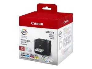 Canon PGI2500XL Pack de 4 Cartuchos de Tinta Originales - 9254B004