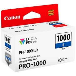 Canon PFI1000 Blue Cartucho de Tinta Original - PFI1000B/0555C001