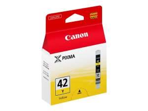 Canon CLI42 Amarillo Cartucho de Tinta Original - 6387B001