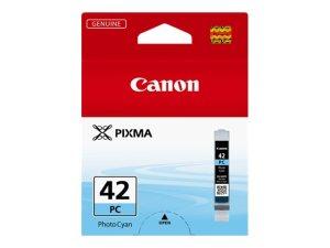 Canon CLI42 Cyan Photo Cartucho de Tinta Original - 6388B001