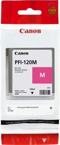 Canon PFI120 Magenta Cartucho de Tinta Original - 2887C001