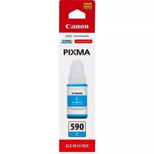 Canon GI590 Cyan Botella de Tinta Original - GI590C/1604C001