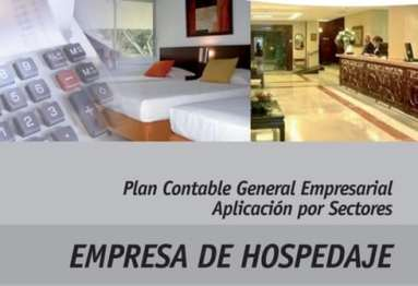 PCGE contabilidad de hospedajes CONTABILIDAD PARA EMPRESAS DE HOSPEDAJES -PCGE