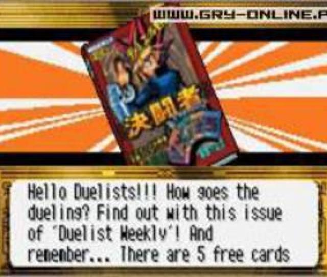 Yu Gi Oh Worldwide Edition Stairway To The Destined Duel Screenshots Gamepressure Com