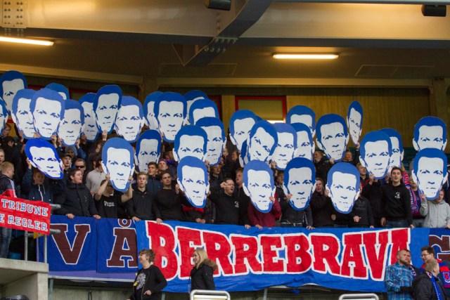 Berre over alt før kampen mot Bodø Glimt i 2014. Vålerenga vant 3-1. Se flere bilder fra kampen her.