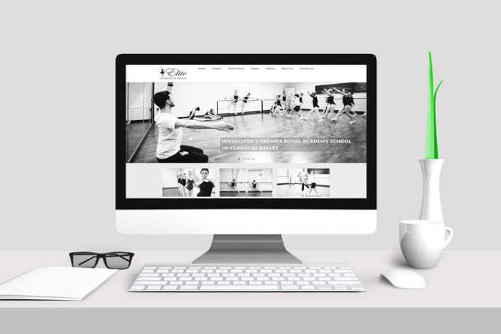 Ballet Website Design