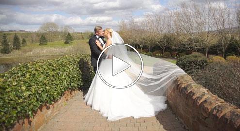 Lisa & David's Wedding Day Highlights