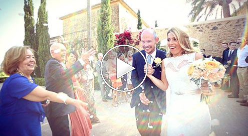 Kirsten & Greg's Mallorca Wedding Video