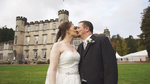 Melville Castle Wedding