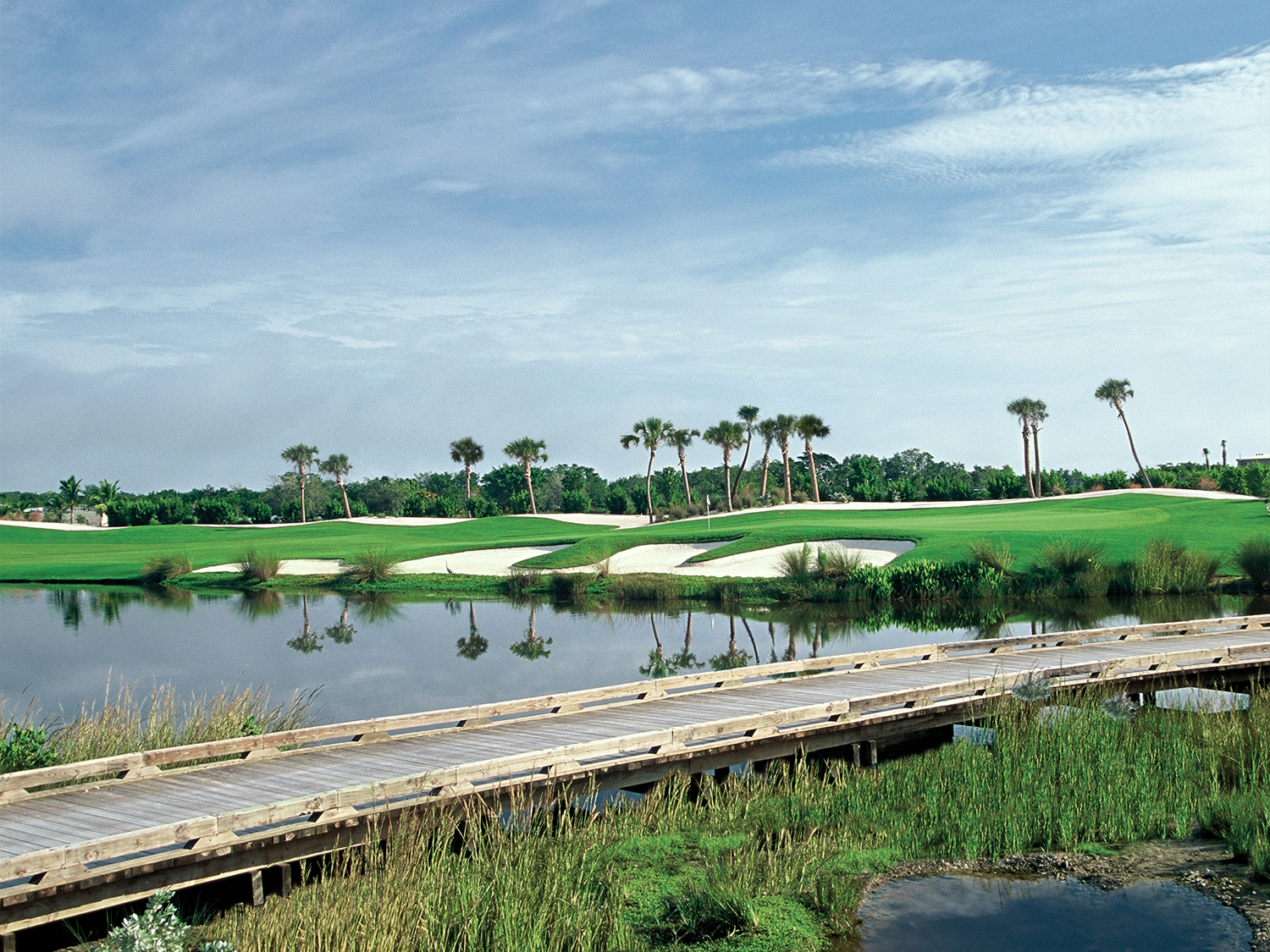 The Blue Monster At Trump Doral Has Been Re Designed By