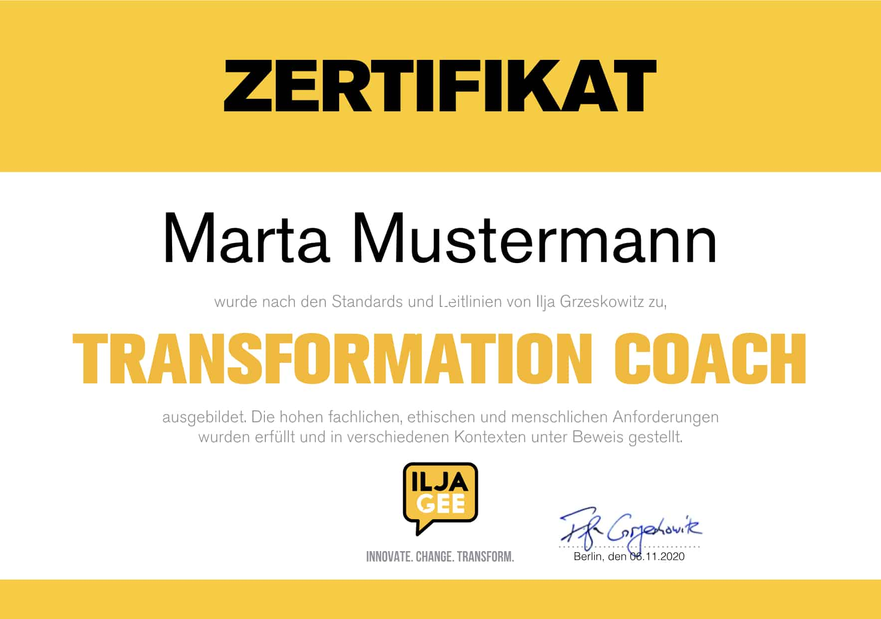Zertifikat coaching ausbildung