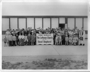 The early days meeting at Sandberg School