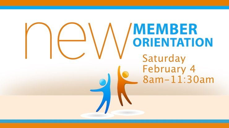 New Member Orientation at Good Shepherd