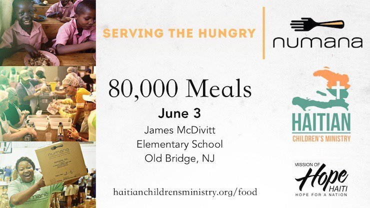 Help us prepare 20,000 Meals for the children of Haiti.