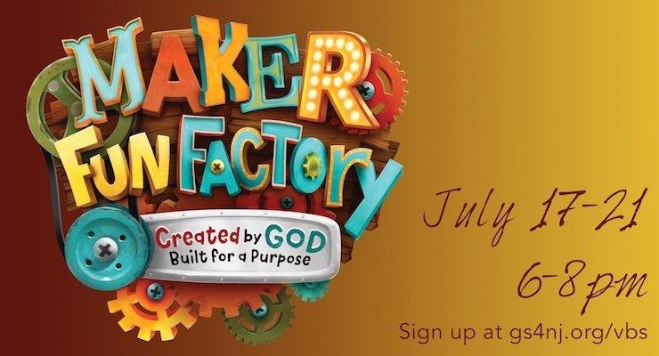Good Shepherd Maker Fun Factory Vacation Bible School