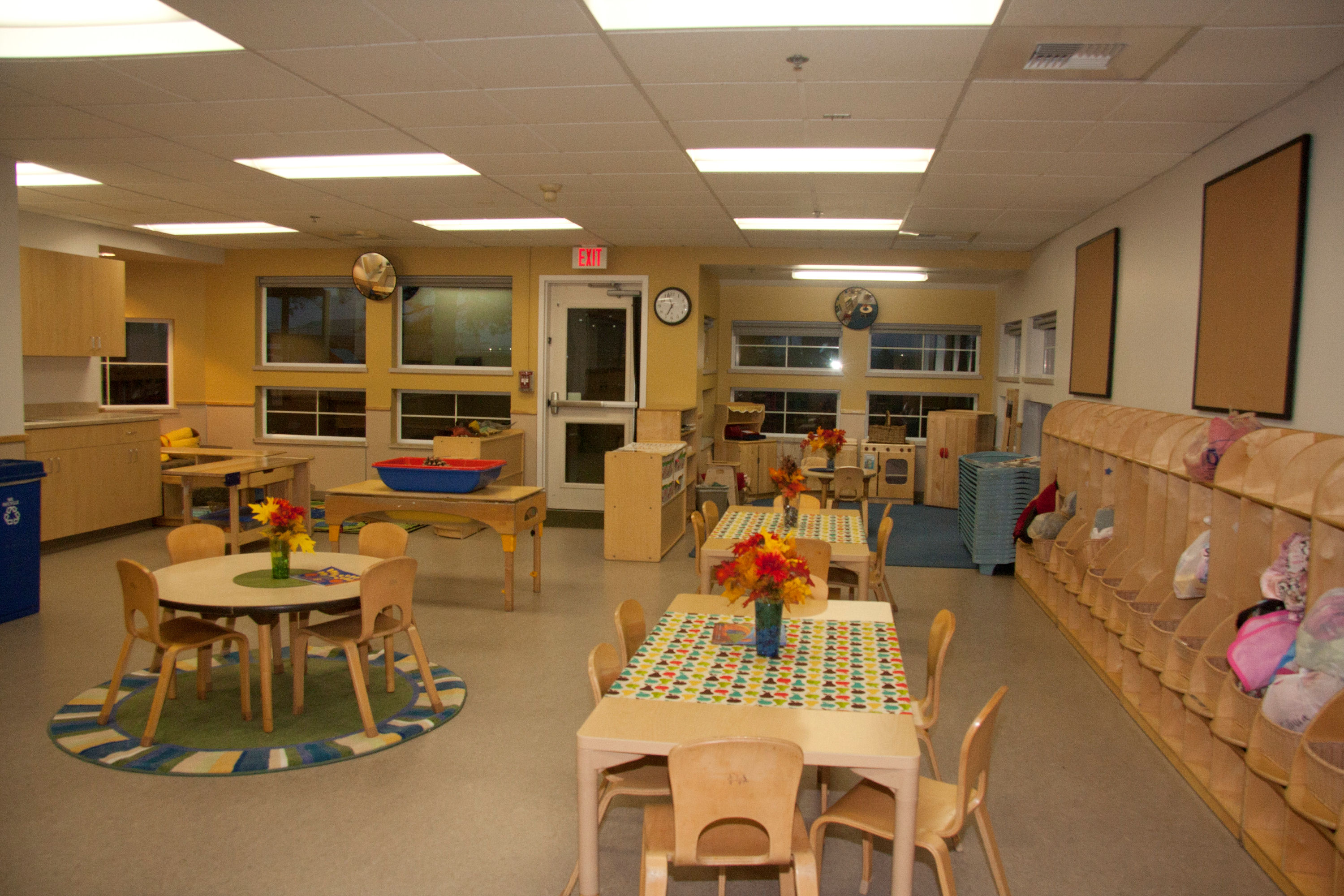 Auburn Child Care Center Renovation Interior photo of GSA Auburn Child Care Center