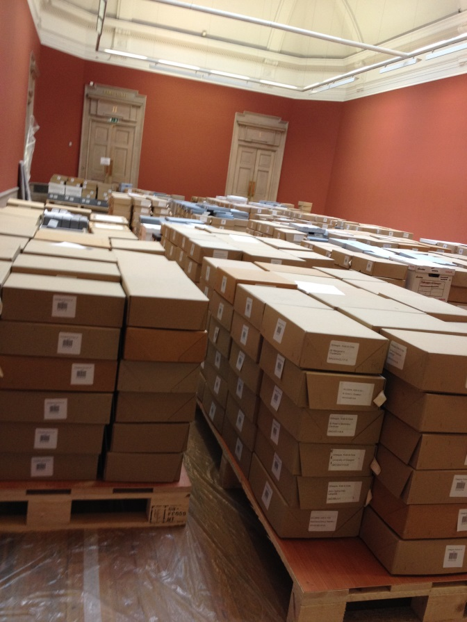 Re-labelled paper archives